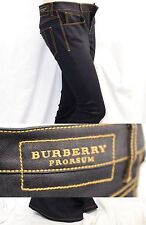 $495 RUNWAY NEW Burberry Prorsum 29L Dark Indigo Flare Fit Jeans Women Lady Gift