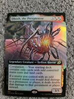 MtG: 1x Foil Obosh, the Preypiercer Full Art (Ikoria) Pack Fresh