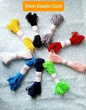 Elastic 2mm Super Soft Cord for Mask-Fast shipping- Usa Stock