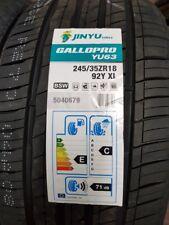 2X NEW CAR TYRES JINYU YU63 XL 245/35 ZR18 92Y A1 GREAT QUALITY 245 35 18 C+GRIP