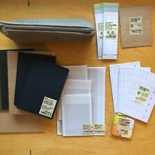 Muji Stationery Lot Notebook Planner Supplies