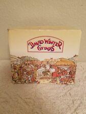 David Winter Cottage 1992 Birthstone Wishing Well In Box