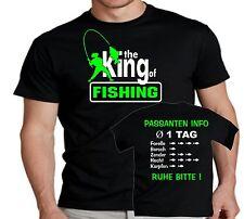 Dänemark Anglershirt Angler T-Shirt Angeln Angelreise Angelurlaub Hecht Pike 192