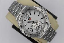 Tag Heuer WAU1113.BA0858 Formula One F1 Watch Mens Grande Date Mint Dial White