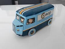 CITROEN H HY DAVID -  BOITE A GATEAUX METAL BOX VAN TUBE CAMION