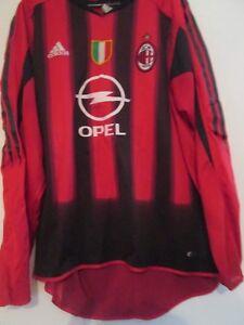 2004-2005 AC Milan Home no 7 Football Shirt XL Adult (41796)