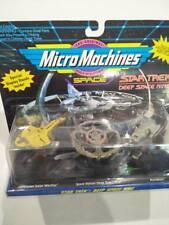 HBNIB Star trek Micro Machines 3pk ships Cardassian Galor Deep Space Nine Runabo