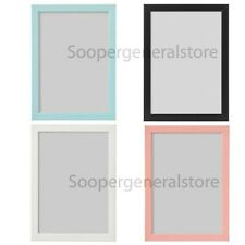 Ikea Fiskbo Photo Frame A4 Picture Pink Blue Black White A4 Children Baby Frame