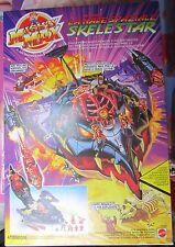 Mighty Max - Attacca La Nave Spaziale Skelestar Mattel 90 MOC Fondo Di Magazzino