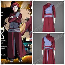 Naruto Gaara Cosplay Costume Pu Naruto Sabaku no Gaara Children Cosplay Costume