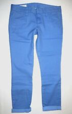 New Hurley Womens Lowrider Skinny Cuffed Chino Pants Jeans Size 5