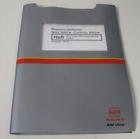 Werkstatthandbuch Seat Ibiza Cordoba Karosserie Montagearbeiten Aussen ab 2002