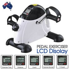 New Mini Pedal Exerciser Gym Bike Fitness Exercise Cycle Leg/Arm w/ LCD Display