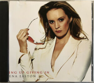 """SHEENA EASTON """"Giving Up Giving In"""" Rare 2000 5Trk Aus CD *Misprinted track list"""