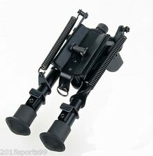 "6""-9"" Harris Style Bipod Adjustable Length Heavy Duty 50 Degree Tiltable pivot &"
