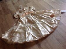 Anna S Kleid Gr.110 (5 Jahre) Gold Neu Mit Etikett