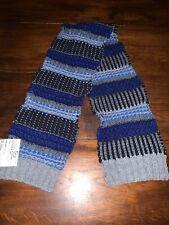 Boys Blue/ Grey Knit Scarf- BRAND NEW