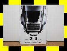 PORSCHE Design Kalender Emaille 911 turbo Dauerkalender Drehkalender NEU LIMITED