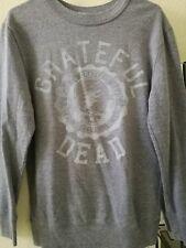 Grateful dead varsity sweater small unisex gray licensed new