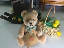 """Gorgeous Vintage 5"""" Hermann ❤️❤️❤️ Teddy Bear From West Germany 🇩🇪 ~Super Nice"""