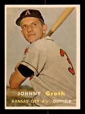 JOHNNY GROTH 57 TOPPS 1957 NO 360 EXMINT+ 21407