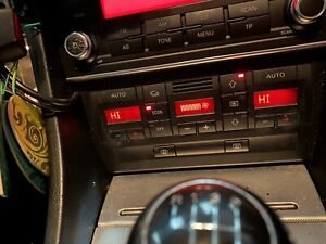 Audi A4 Climate Control Unit 8e0 820 043 BL