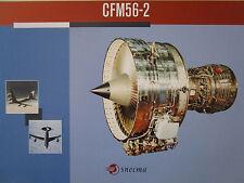 DOCUMENT RECTO VERSO SNECMA GENERAL ELECTRIC CFM56-2 MOTEUR ENGINE AWACS