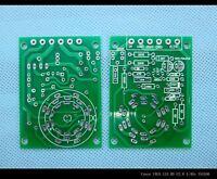 10pc magic eye VU meter indicator tube PCB for EM80 6E2 EM87 EM81 EM84