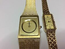 vintage Hamilton 8344 and 8354 watches beautiful condition