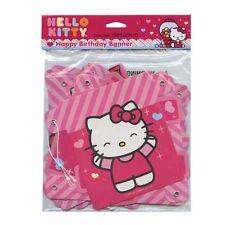 Hello Kitty Happy Birthday Banner