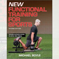Michael Boyle New Functional Training for Sports Book Paperback NEW
