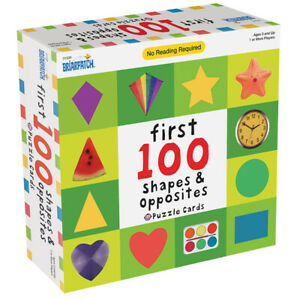 Briarpatch - First 100 Shapes & Opposites Puzzle Cards