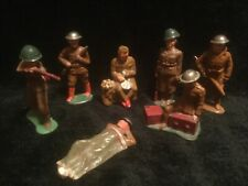 Lot of 7 Antique Barclay? Lead Soldiers