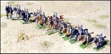 GHQ  ACW 10mm US Mounted Cavalry - Charging  ACW-59 New