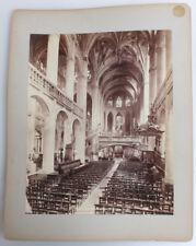 ALBUMEN OF SAINT-ETIENNE-DU-MONT CHURCH INTERIOR W/ SUNLIGHT - PARIS, FRANCE