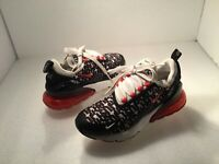 Nike Kid's Air Max 270 'Just Do It' Shoes Girl's Sz 4.5Y Multicolor #AR0021-001