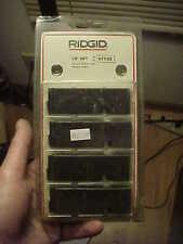 "NOS RIDGID Tool 47735 1/8"" NPT RH Universal Pipe Die Replacement Cutter Set 4 Pc"