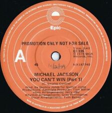Michael Jackson Promo 45 RPM Speed Vinyl Records