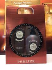 Perlier Confezione Sandalo Sapone liquido 300ml doccia Shampoo 250ml