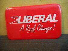 Newfoundland Liberal Campaign Button Pinback Canada Political Pin