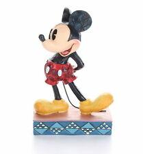"Jim Shore Disney Classic Mickey Mouse Personality Pose ""The Original"" 4032853"