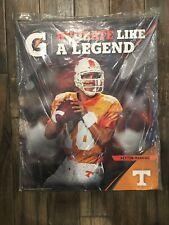 """Peyton Manning Gatorade Advertising 24""""x30"""" Display Poster Tennessee Vols"""