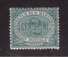 SAN MARINO 1877 MINT #1, NUMERAL !! B14
