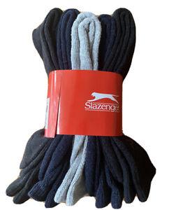 Slazenger 5PK Mens Sports Socks - Assorted Colours - UK 7-11