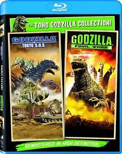New Godzilla: Final Wars & Tokyo S.O.S. (Blu-ray)