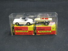 Schuco Piccolo Mercedes-Benz 190 SL + Trailer + Speedboat (JS)