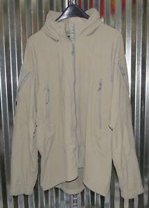 Patagonia Alpha Grey Large Regular Soft Shell Level 5 Combat Jacket PCU S-1