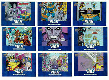 Avengers Infinity War Marvel Complete 10 Card Chase Set Comic Cards IW1 to IW10