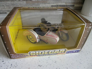 Sidecar Collection 1:18 Die Cast Motorbike And Sidecar From Toyway