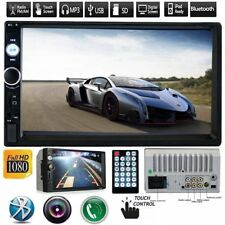 7'' 2 DIN HD Touch Screen Bluetooth Car Stereo Radio MP5/MP3 Player FM/USB/AUX